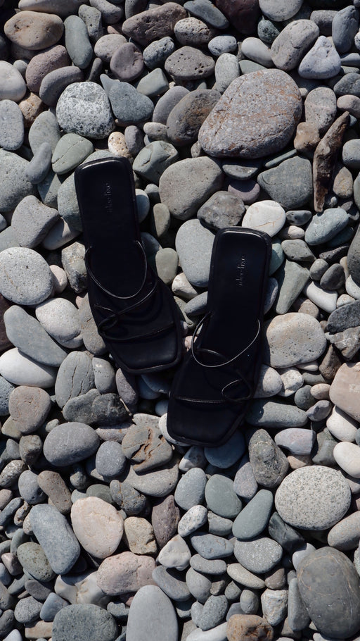Morocco Sandals | Full Black