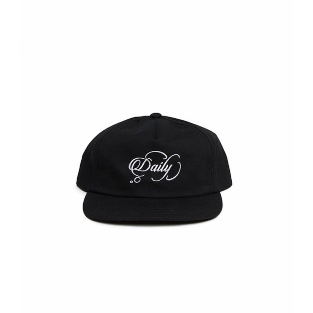 "Daily Thoughts LA ""Thoughts"" Snapback (Black)"