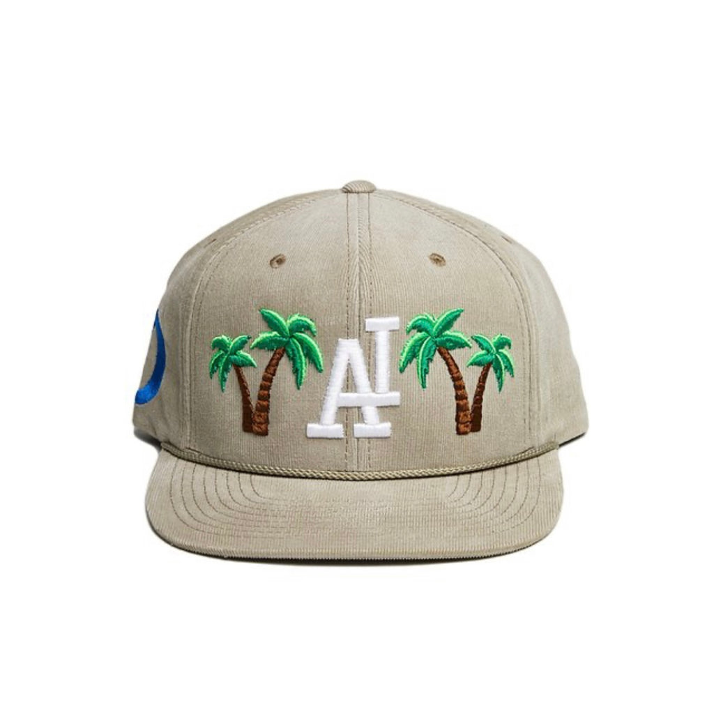 "Daily Thoughts LA ""City Champs"" Corduroy Snapback (Tan)"