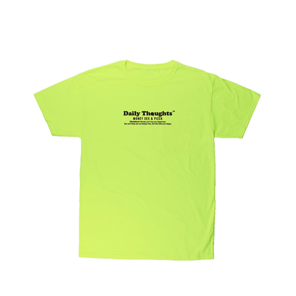 """Essentials"" T-shirt (Neon Green) By Daily Thoughts"