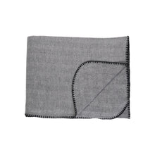 Load image into Gallery viewer, Winter Herringbone Throws - Haven & Earth