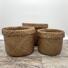 Load image into Gallery viewer, Stout Sea Grass Basket