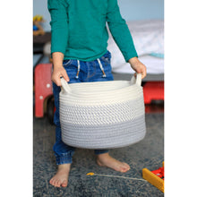 Load image into Gallery viewer, Grey Ombré Cotton Basket