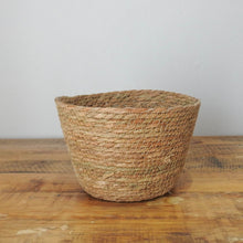 Load image into Gallery viewer, Woven Grass Flower Pot
