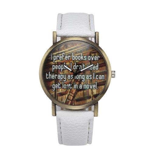 Poem Designed watch