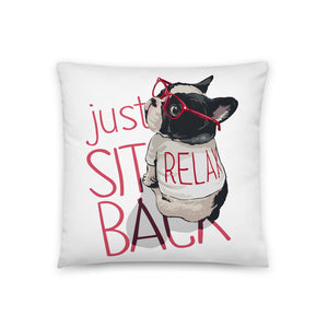 Just sit back Pillow