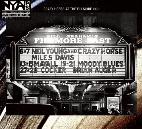 YOUNG, NEIL & CRAZY HORSE / Live at the Fillmore East