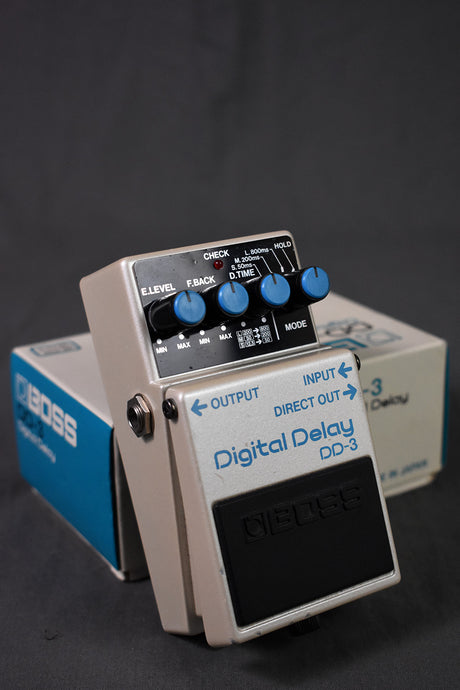 1986 Boss MIJ DD-3 Digital Delay
