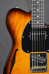 2016 G&L Tribute ASAT Classic Bluesboy Semi-Hollow