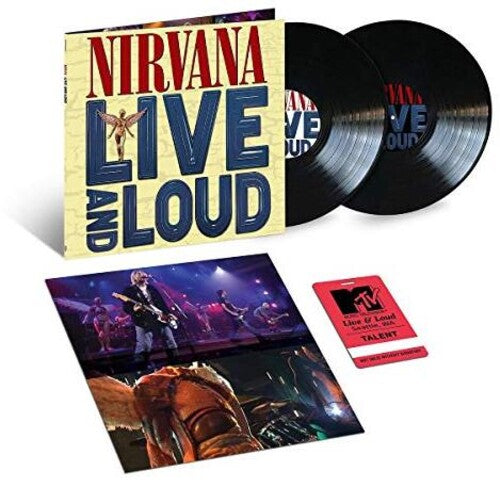 NIRVANA / Live And Loud
