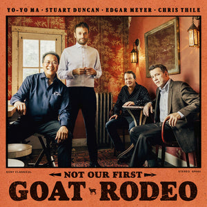 MA, YO-YO , DUNCAN, STUART , MEYER, EDGAR & THILE, CHRIS / Not Our First Goat Rodeo [Limited Gatefold, [180-Gram Clear Vinyl]