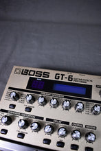 Load image into Gallery viewer, Boss GT-6 Guitar Effects Processor #DQ22996
