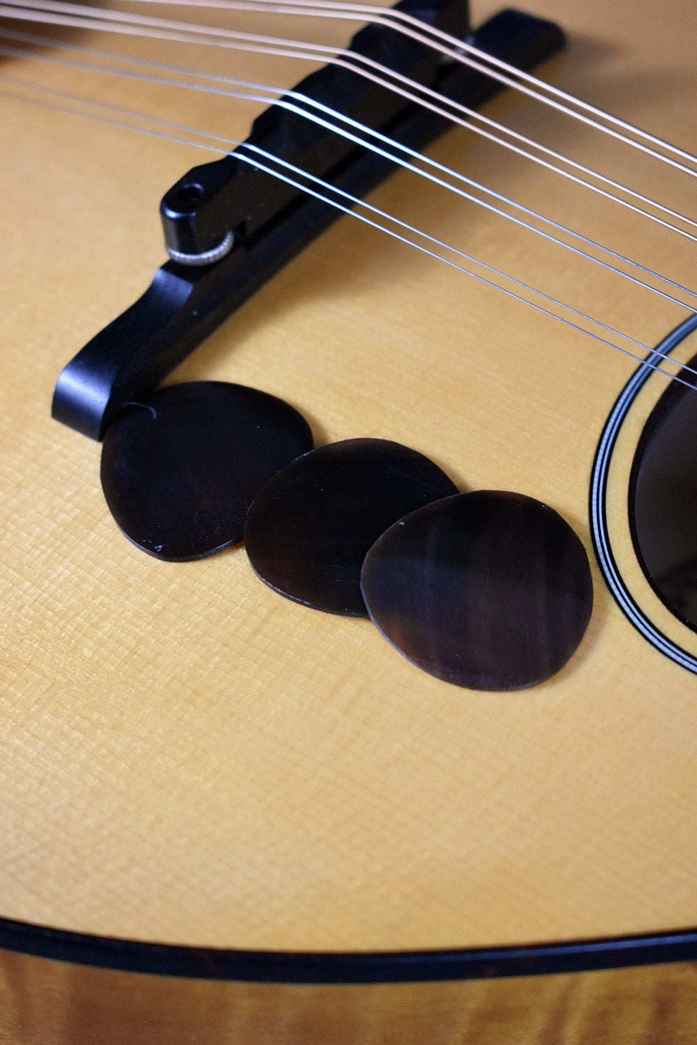 Buffalo Horn Mandolin Pick