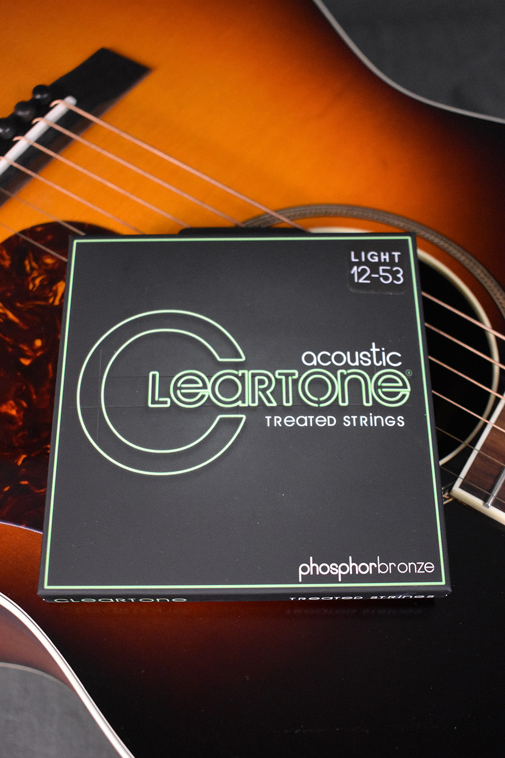 Cleartone Acoustic Phosphor Bronze Treated Strings