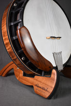 Load image into Gallery viewer, Cooperstand PRO-B Sapele Banjo Stand
