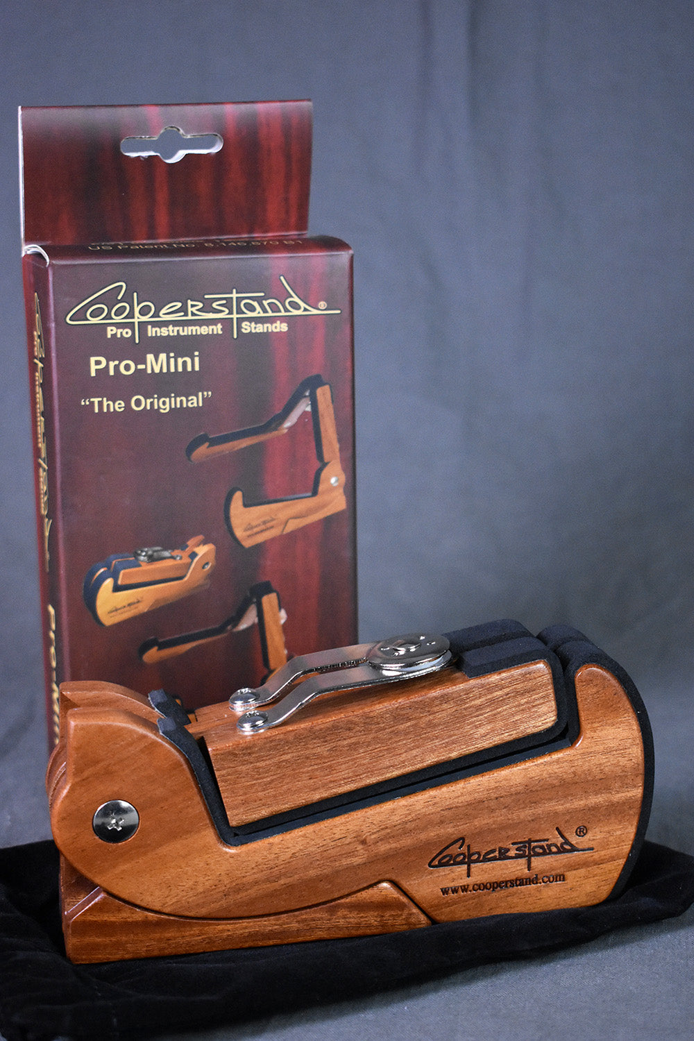 Cooperstand PRO-Mini Sapele Stand