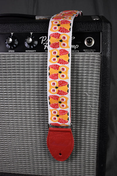 "Souldier Owls Red 2"" Strap"