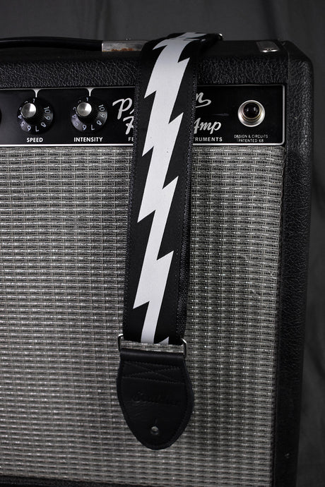 Souldier Lightning Bolt on Black Strap