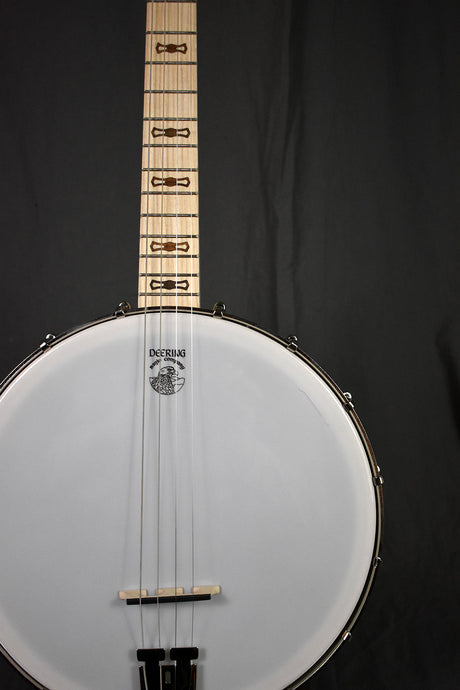 Deering Goodtime 17-Fret Tenor Openback Banjo (Low Irish Tuning)