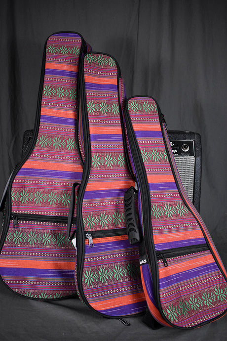 Ohana Multicolor Canvas Ukulele Gig Bag