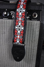 "Load image into Gallery viewer, Souldier 1.5"" Constantine Black Red White Strap"
