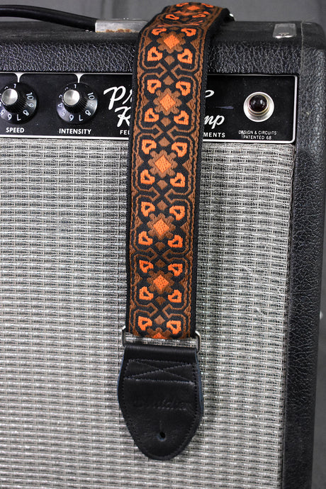 Fillmore Brown/Orange Strap