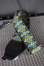 Load image into Gallery viewer, Honeycomb Blue/Turquoise Strap
