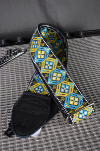 Honeycomb Blue/Turquoise Strap
