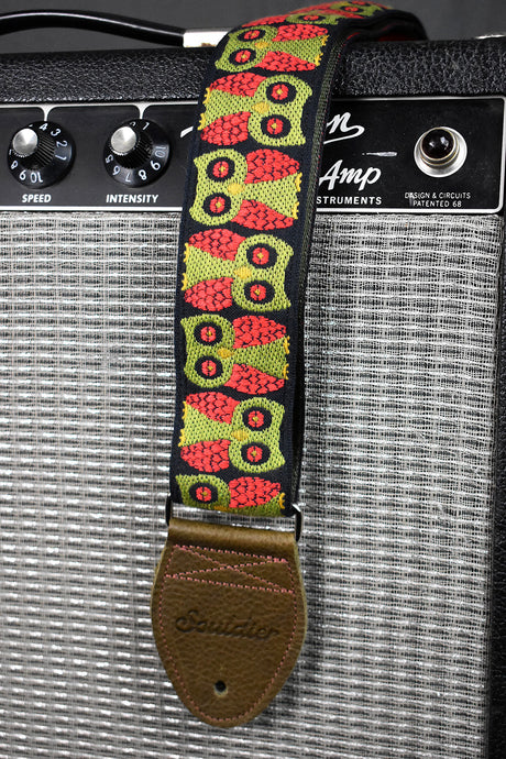 Souldier Olive, Red & Black Owls Strap