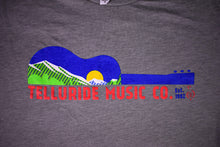 "Load image into Gallery viewer, TMC ""Mountains & Guitar"" T-Shirt"