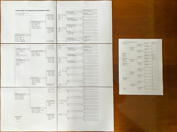 Announcing our largest fillable genealogy PDF yet
