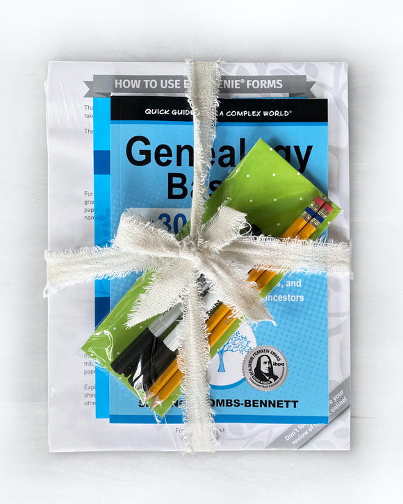 Genealogy gift idea: EasyGenie's new deluxe genealogy gift bundle