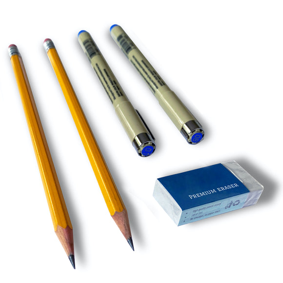 NEW! Archival-quality pen and pencil set