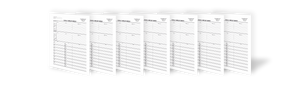 Blank Two-Sided Family Group Sheets for Genealogists (7-Pack)