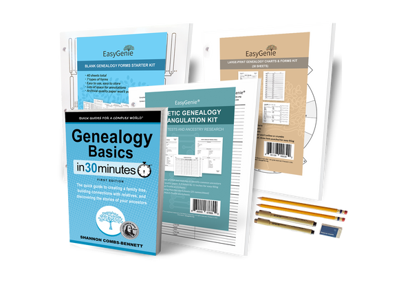 NEW! Deluxe Genealogy Gift Bundle by EasyGenie