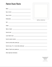 Load image into Gallery viewer, Genealogy Kit for Kids (PDF download)