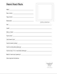 Genealogy Kit for Kids (PDF download)