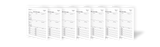 LARGE PRINT Two-Sided Family Group Sheets for Genealogists (7-pack)