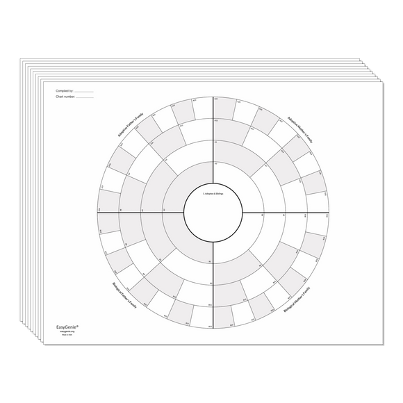 NEW! Adoptee Circle Chart Set (Unfolded)