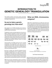 Load image into Gallery viewer, NEW! Genetic Genealogy Triangulation Kit for DNA Tests