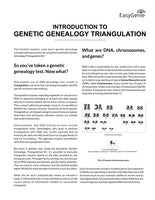 NEW! Genetic Genealogy Triangulation Kit for DNA Tests