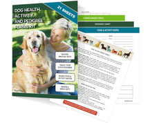 Load image into Gallery viewer, Dog Health, Activity, and Genealogy Forms Kit (21 Sheets)