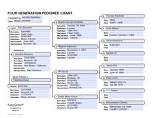Load image into Gallery viewer, PDF Download: Large Print Genealogy Forms Kit | Pedigree, Fan, Family Group Worksheets