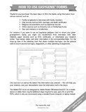 PDF Download: Blended Family Genealogy Forms Kit (2 Forms with Multiple Spouses)