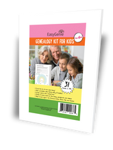 Load image into Gallery viewer, Genealogy Kit for Kids (31 sheets)