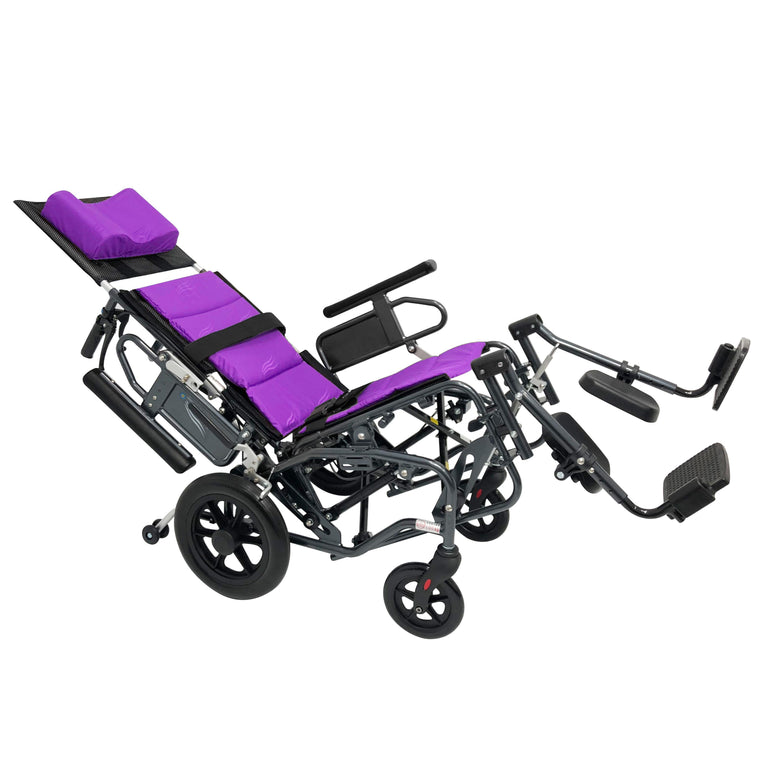 Sanction Lightweight 9TR12 Aluminium Tilt/Recline Attendant Wheelchair - Sanction Industry Co., Ltd.