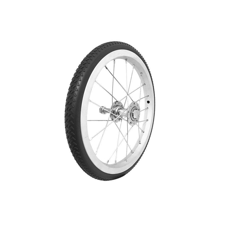 "P-WA-14-01-01    14''X1"" Fixed Aluminum Rim with PU Tires - Sanction Industry Co., Ltd."