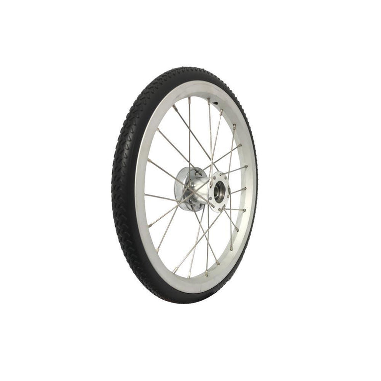 "P-WAC-14-01-01   14''x1""  Fixed Aluminum Rim with PU Tires (Without Drum Brakes) - Sanction Industry Co., Ltd."