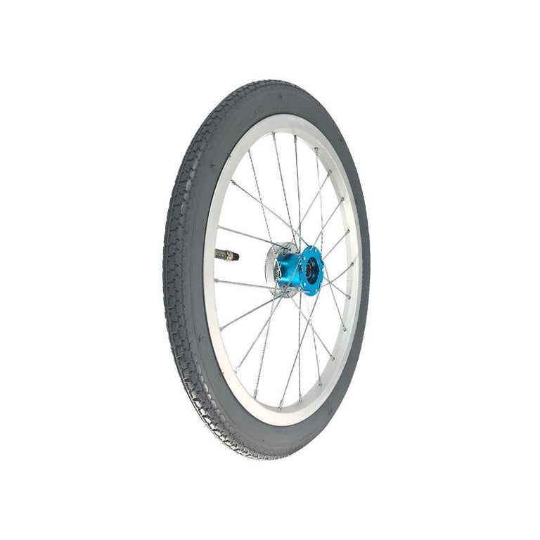 "P-WAC-16-01-01 16''x1.5"" Fixed Aluminum Rim with Pneumatic Tires Presta Valve (Without Drum Brakes) - Sanction Industry Co., Ltd."