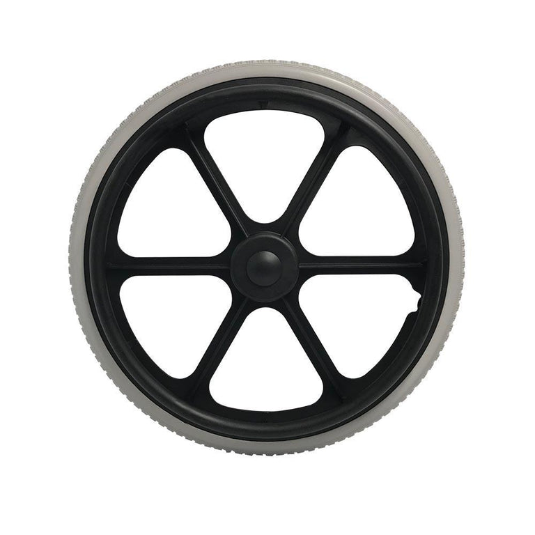 P-WP-20-02-01  20'' x 1-3/8 Fixed Plastic Rim with PU Tires - Sanction Industry Co., Ltd.